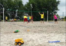 Beach volley / soccer ouvert